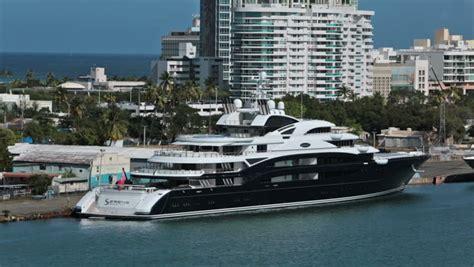 san juan puerto rico jan  luxury motor yacht
