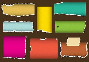 Little Ripped Paper Vectors - Download Free Vector Art ...
