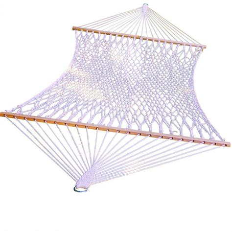 algoma  ft cotton rope hammock   home depot