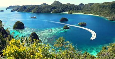 raja ampat surga dunia indonesia  ujung timur