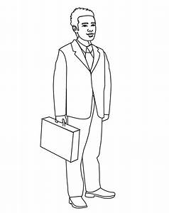 Man - Free Colouring Pages