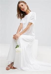 asos now sells a t shirt wedding dress good housekeeping With wedding dress t shirt