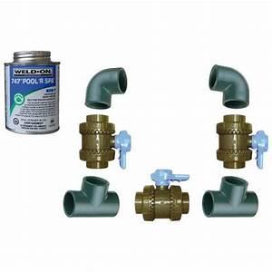 Pompe A Chaleur Avis : kit by pass 50mm pour pompe chaleur piscine ~ Melissatoandfro.com Idées de Décoration