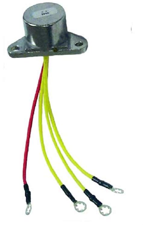 Omc Wiring Regulator by Johnson Evinrude Voltage Regulators And Rectifiers