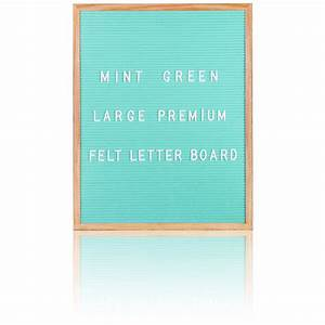 large premium felt letter board mint green iwoot With big letter board
