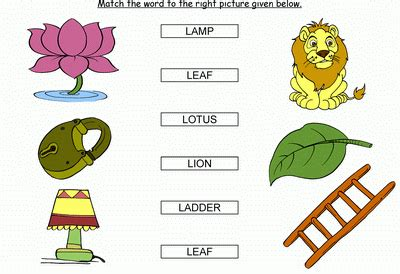 l words for match the words starting with l