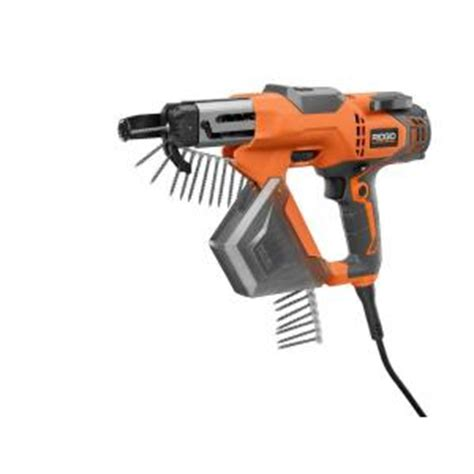 Decking Gun Hire by Ridgid 3 In Drywall And Deck Collated Screwdriver R6791