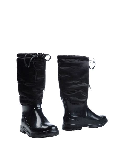 boots dg 26 lyst dolce gabbana boots in black for