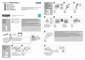 Mode D U0026 39 Emploi Epson Stylus Sx100