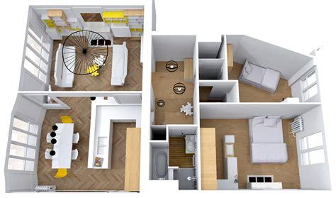 amenagement des combles en chambre rénovation complète appartement tour eiffel cimaise