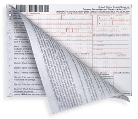 sts by mail form usps customs form 2976