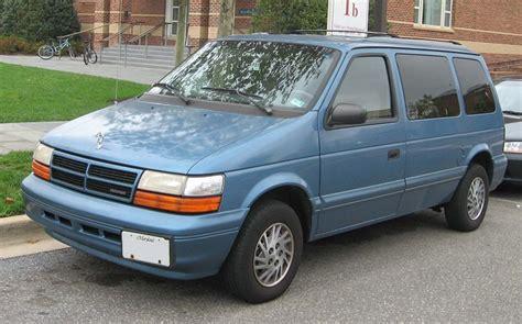 1993 Dodge Caravan by 1993 Dodge Caravan Information And Photos Zombiedrive