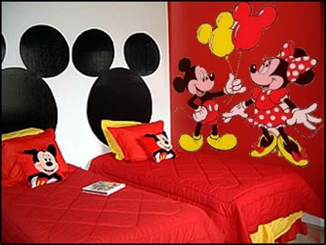 Mickey And Minnie Mouse Bedroom Curtains by Decorating Theme Bedrooms Maries Manor Mickey Mouse