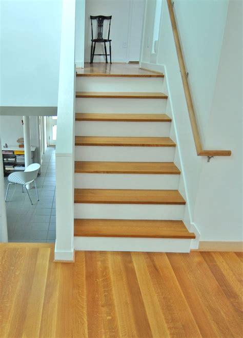 quarter sawn white oak stair treads  flooring