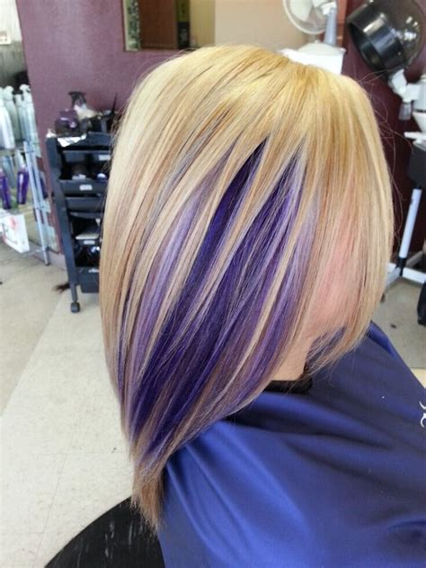 Stylish Hair Color Designs Purple Hair Ideas To Try Popular Haircuts