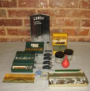 vintage keuffel esser leroy lettering symbols pen set a With leroy lettering pen