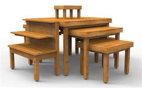 bakery nesting tables cayuga displays