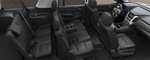 2017 Chevy Suburban Large SUV Interior | GM Fleet