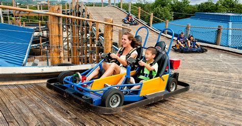 Go-kart At The Lumberjack At The Track In Branson, Mo