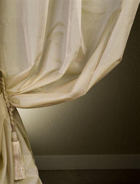 silk organza sheer curtain contemporary curtains