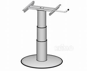 Pied De Table Telescopique : eins ulen hubtisch hubh he 320 695mm 57115 nl ~ Dailycaller-alerts.com Idées de Décoration