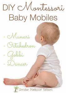 Montessori Spielzeug Baby : diy montessori baby mobiles christian montessori network blog baby baby mobile kinder ~ Orissabook.com Haus und Dekorationen
