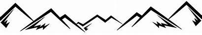 Mountain Mountains Transparent Logos Clipart Money Pngio
