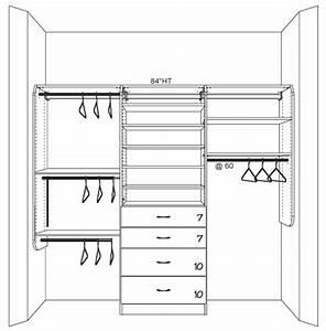 Closet Works Tips  Nursery Closet Organization Ideas
