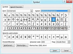 how to insert math symbols in word 2010 With word documents symbols