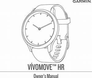 Garmin Vivomove Hr Owner U2019s Manual Om En