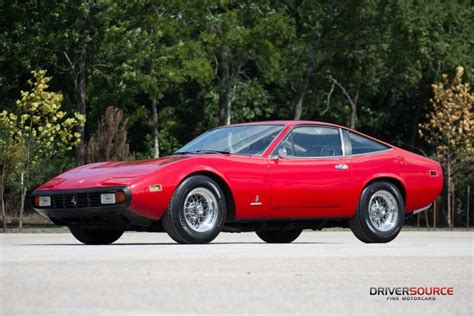 And when this is combined by the limited production run and figures, they certainly present a fantastic argument as being the finest 70s ferrari. 1972 Ferrari 365 GTC/4   DriverSource : Fine Motorcars   Houston, TX