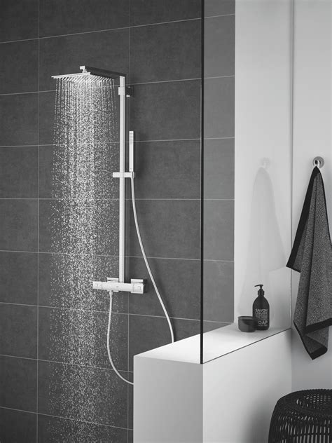 euphoria system  shower system  thermostatic mixer