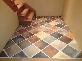stonehaven simple pleasures painted faux slate tile floor