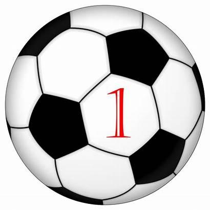 Soccer Ball Svg Number1 Futbol Number Pixels