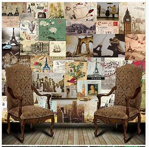 Vintage Postcard Wallpaper Promotion-Shop for Promotional ...