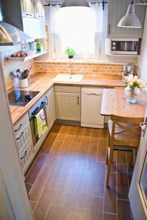 petites cuisines comment aménager une cuisine idées en photos