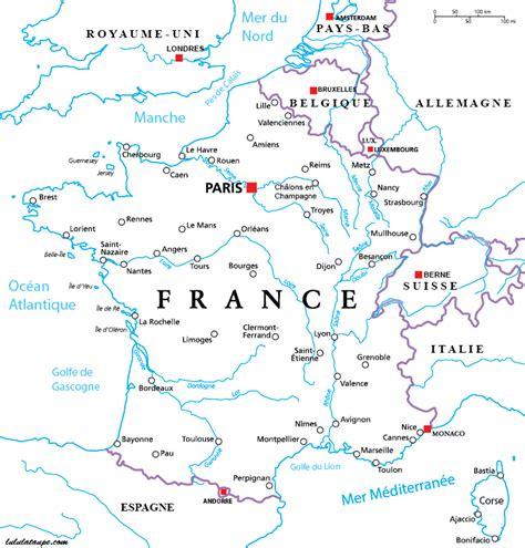 Carte Des Fleuves De Et Villes carte de 224 imprimer gratuitement villes et fleuves