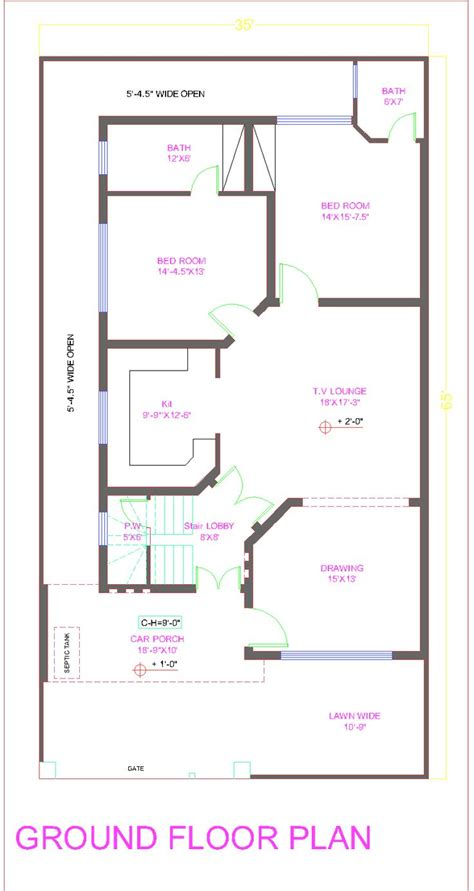 25by 50 plot size lay out plan new 10 marla house plan bahria town overseas b block in lahore pakistan 2014 floor plans in