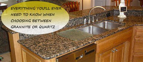 granite quartz countertops design bild