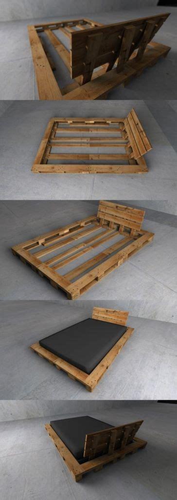 Bettgestell Aus Europaletten by Diy Betten Aus Europaletten Wohnung Bett Ideen