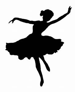 Silhouette Ballet Dancer - Cliparts.co