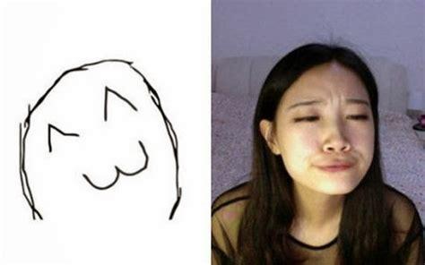 Meme Faces Girl - girl making meme faces