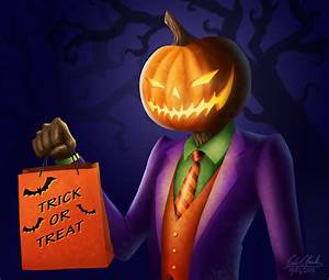 Sharp Dressed Pumpkin Man by Sawuinhaff on DeviantArt