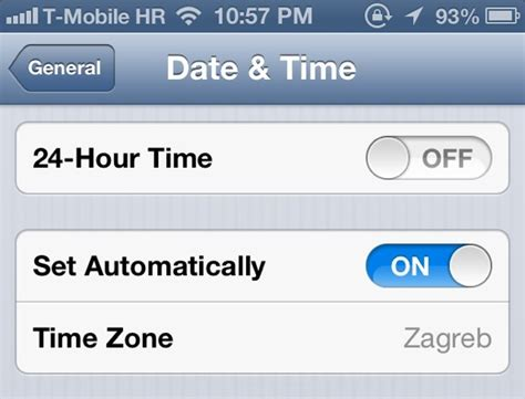 the time on my iphone is wrong iphone date and time gallery