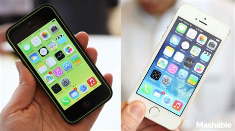iphone 5c vs 5s iphone 5s vs iphone 5c which should you buy