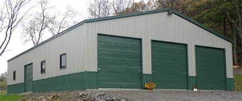 Metal Barn Siding Prices by 50x40 Vertical Carport Metal Building Alan S Factory