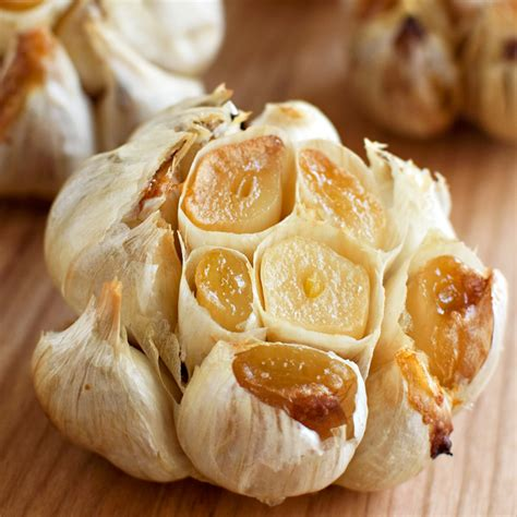 roasted garlic fork knife swoon