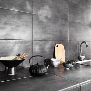 Revetement De Sol Adhesif : revetement mural cuisine adhesif 3 carrelage mural et ~ Premium-room.com Idées de Décoration