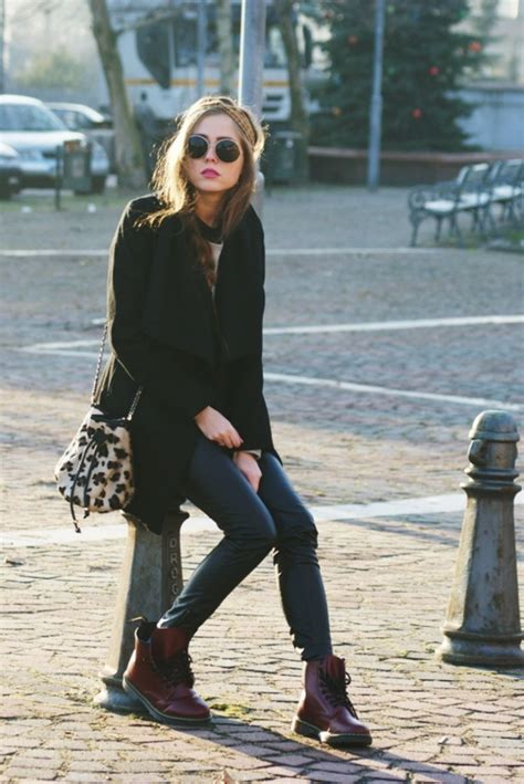 outfit dr martens basse nere