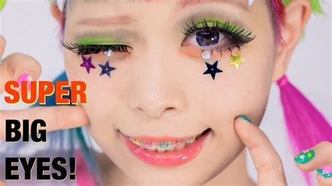 Super Big Eyes Makeup Tutorial Lashes & Hairstyle By Kurebayashi Japanese Kawaii Model Short Hairstyle For Over 40 Mens Hairstyles Fade 2016 Kid Boy Color Long Hair Ideas Wedding Newest Type Of